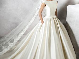 Просмотреть изображение Свадебные платья Pronovias Pravina в идеальном состоянии 48240087 в Москве