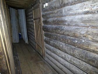 Просмотреть фотографию  Бревенчатый дом с баней в жилом селе, 280 км от МКАД 49789603 в Москве