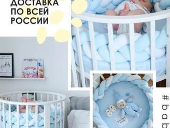 Смотреть foto Мебель для детей Кроватка трансформер 7 в 1 68316634 в Новосибирске