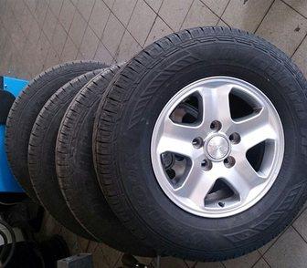 Изображение в Авто Шины Колёса 4 шт. почти новые с балансировкой в Москве 23000