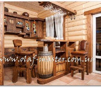 Фото в Мебель и интерьер Столы, кресла, стулья Изготовление барных стоек из массива дерева в Москве 0