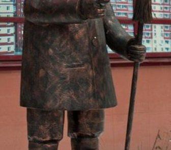 Фото в   Креативная скульптура из металлаСтарый дворник. в Краснодаре 0