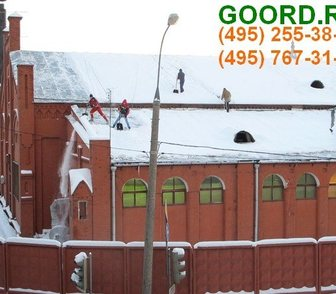 Изображение в Услуги компаний и частных лиц Разные услуги Оказываем услуги по очистке кровли от снега в Москве 25