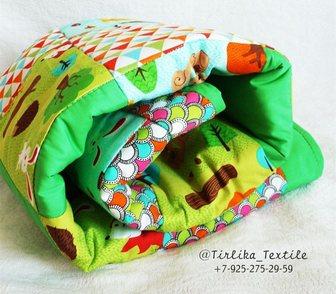 Изображение в Для детей Детские игрушки Продается лоскутное одеяло для Димочки, размер в Москве 2000