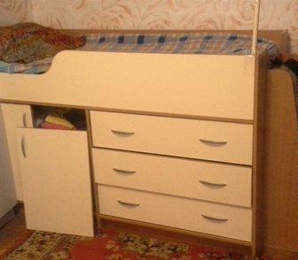 Фотография в   Продается кровать-чердак 180/60 светло бежевого в Москве 6000