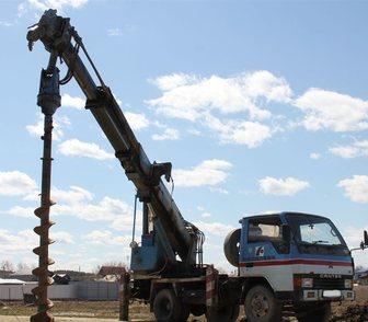 Фотография в   Аренда профессиональной автобуровой техники в Москве 0