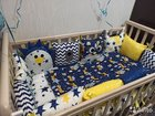 Бортики подушки игрушки в кроватку