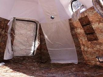 Новое фотографию Товары для туризма и отдыха Универсальная палатка УП 2 с печкой Берег 0,8мм, нержавеющая сталь 26860692 в Мурманске