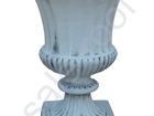 Уникальное foto Мебель для дачи и сада Вазон бетонный пр, Беларусь 54 см, Ф43 см, 38410819 в Мытищи