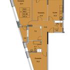 3-х комнатная квартира, улица Советская дом №6, площадь 101,95, этаж 2