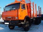 Свежее foto Лесовоз (сортиментовоз) продаю КАМАЗ 53228 с прицепом-сортиментовозом 34075500 в Набережных Челнах