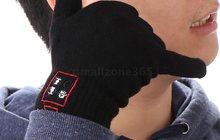 Перчатки Bluetooth с микрофоном и колонкой для сенсорных телефонов