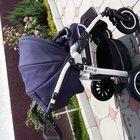 детская коляска 2 в 1, Jedo (польша) со стразами