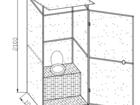 Фото в Строительство и ремонт Строительные материалы Продаем на ваш участок кабину туалета дачного. в Наро-Фоминске 8400
