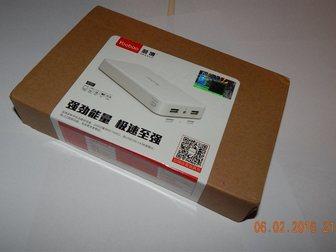 Просмотреть фото Телефоны NEW Портативный аккумулятор (Power bank) 20000 mAh 34561585 в Нижневартовске