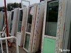 Пластиковые окна и двери б\у новые и новостроек