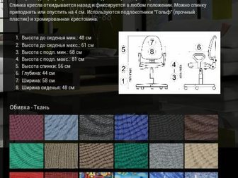 Уникальное изображение  на заказ кресла престиж изготовим 32726219 в Нижнем Новгороде