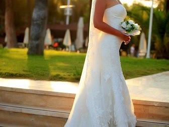 Свежее foto  Продам брендовое свадебное платье от итальянского дизайнера 40255214 в Москве