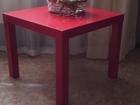 Фотография в Мебель и интерьер Мебель для гостиной столик журнальный красного цвета, покрыт в Нижнем Тагиле 600