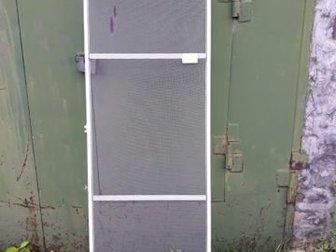 Сетка москитная на дверь балкона ,размеры 1999?580,профиль алюминий,заводская сборка в Нижнем Тагиле