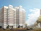 2-ух комнатная квартира, в строящемся жилом комплексе Истом