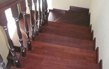 Изготовление деревянных лестниц из сосны, ясеня, дуба