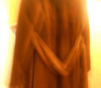 Изображение в Одежда и обувь, аксессуары Женская одежда продается шуба норковая длинная с поясом в Ноябрьске 100000