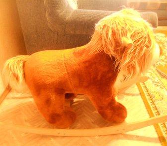 Фотография в Для детей Товары для новорожденных продается лошадка-качалка в Ноябрьске 500