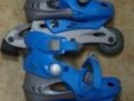 Продам коньки роликовые раздвижные Коньки роликовые раздвижные, размер 26-29. Цв