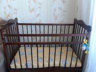 новая кроватка новая кроватка с ящиком с низу. ребенок не разу в ней не спал.