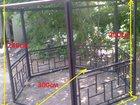 Новое изображение Строительные материалы Новые беседки разборные без покрытия 34776902 в Новомосковске