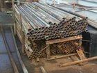 Фото в Строительство и ремонт Строительные материалы Продаем трубы Б/У. столбы для забора, трубы в Новосибирске 0