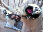 Увидеть foto  Горнолыжный шлем и маска (в комплекте) 32576230 в Новосибирске