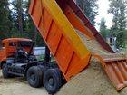 Увидеть изображение Строительные материалы Песок с доставкой 35000373 в Новосибирске