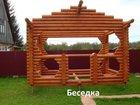 Изображение в Строительство и ремонт Строительные материалы Продам недостроенную беседку из калиброванного в Новосибирске 50000