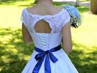 Фотография в Одежда и обувь, аксессуары Свадебные платья Платье покупала в салоне новое за 20000 руб, в Новосибирске 17000