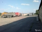 Фотография в Недвижимость Аренда нежилых помещений Сдам в аренду площадку под грузовой автотранспорт в Новосибирске 0