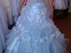 Изображение в Одежда и обувь, аксессуары Свадебные платья Белое свадебное платье, с прозрачным корсетом в Новосибирске 7000