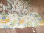 Новое изображение Детская мебель Детская кроватка + балдахин + противоударники 67704559 в Новосибирске