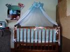 Скачать бесплатно foto  Продаётся детская кроватка с ортопедическим матрасом, 68402969 в Новосибирске
