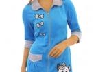 Просмотреть изображение  Женские домашние халаты оптом в Бийске 69702858 в Бийске