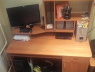 Продам компьютерный стол Продам компьютерный стол в идеальном состоянии, без цар