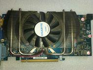 Gigabyte GeForce GTS 250 1 Gb 256 Bit В хорошем состоянии, тянет многие современ