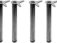 Опора для стола (ножки 4 шт) хром Продам ножки хромированные новые. Подойдут для