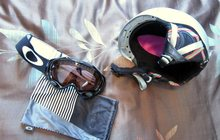 Горнолыжный шлем и маска (в комплекте)
