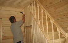 Услуги плотника, Внутренняя отделка бань