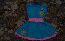 Платье трикотажное на девочку