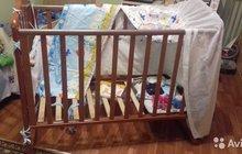 Кроватка детская 125*67см