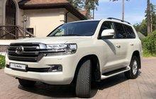 Toyota Land Cruiser 4.5AT, 2018, внедорожник