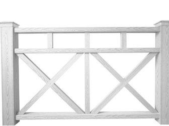 Скачать бесплатно фотографию Строительные материалы Композитное ограждение белого цвета 32391154 в Новосибирске
